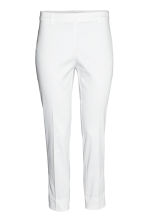 Suit trousers - White - Ladies | H&M CN 2